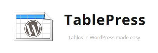 tablepress support